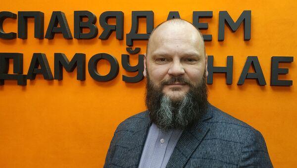 Глава латвийской партии Действие Руслан Панкратов - Sputnik Беларусь