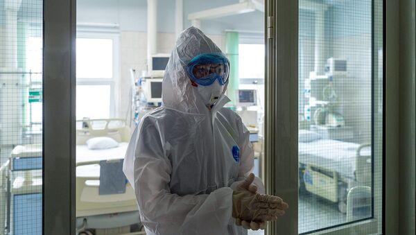 Праца медыка, архіўнае фота - Sputnik Беларусь