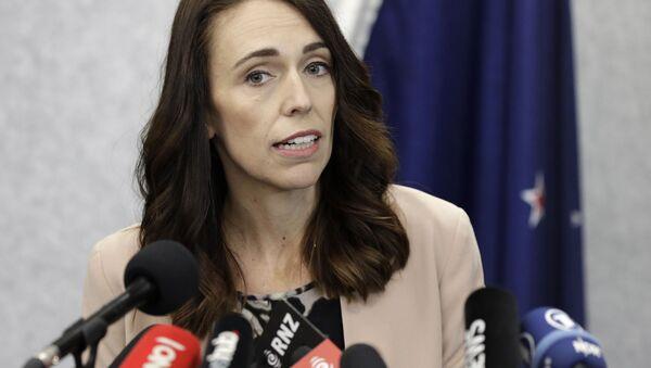 Премьер-министр Новой Зеландии Джасинда Ардерн  - Sputnik Беларусь