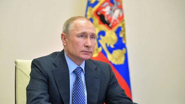 Пуцін: здзелка АПЕК + павінна выконвацца ўсімі краінамі - Sputnik Беларусь