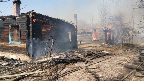Сгоревшая деревня - Sputnik Беларусь