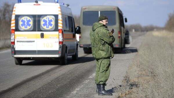 Обмен пленными между ЛНР и Киевом  - Sputnik Беларусь