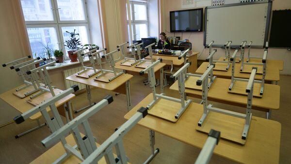 Пустой класс в школе - Sputnik Беларусь