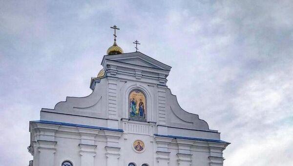 Свята-Благавешчанскі Лядзенскі храм у Смалявіцкім раёне - Sputnik Беларусь