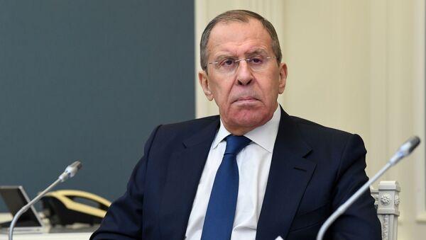Министр иностранных дел России Сергей Лавров - Sputnik Беларусь