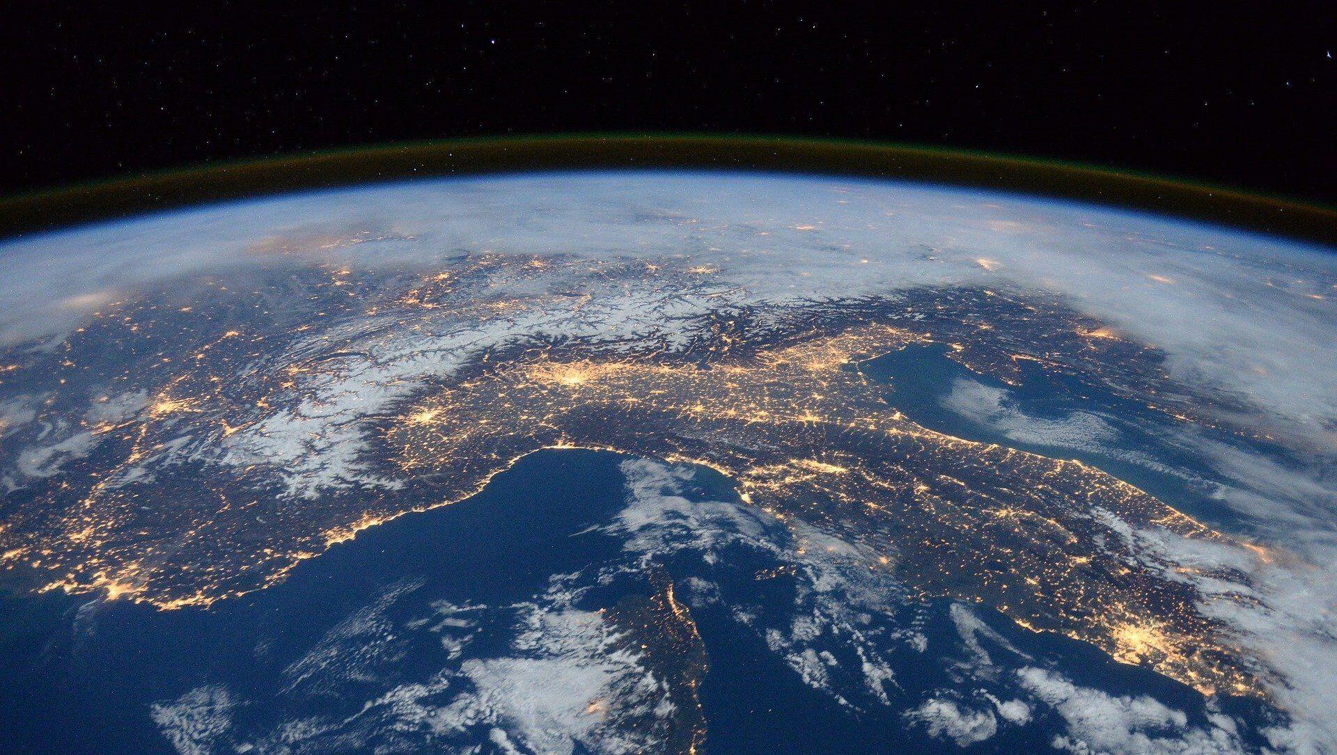 Здымак планеты Зямля з космасу, архіўнае фота - Sputnik Беларусь, 1920, 21.04.2021
