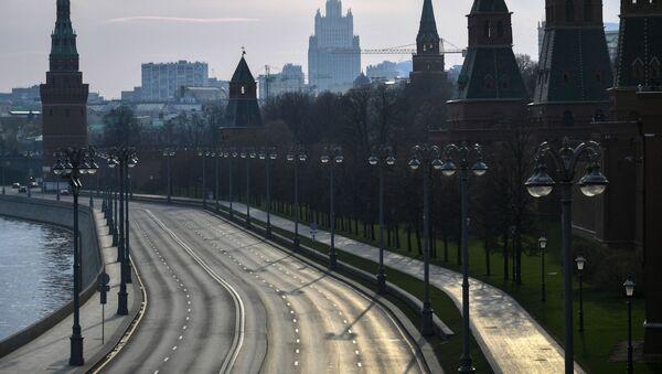 Масква падчас рэжыму самаізаляцыі жыхароў - Sputnik Беларусь