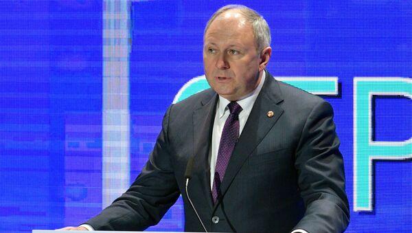 Премьер-министр Беларуси Сергей Румас - Sputnik Беларусь
