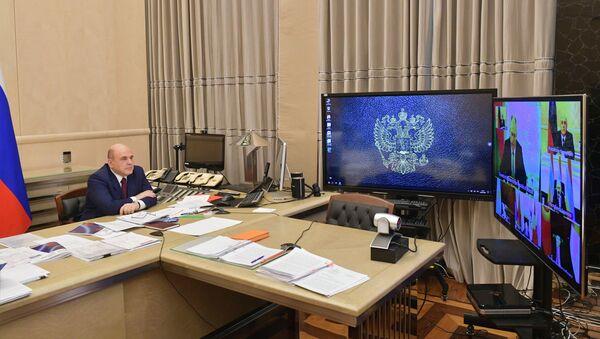 Премьер-министр РФ М. Мишустин принял участие в заседании Евразийского межправительственного совета - Sputnik Беларусь