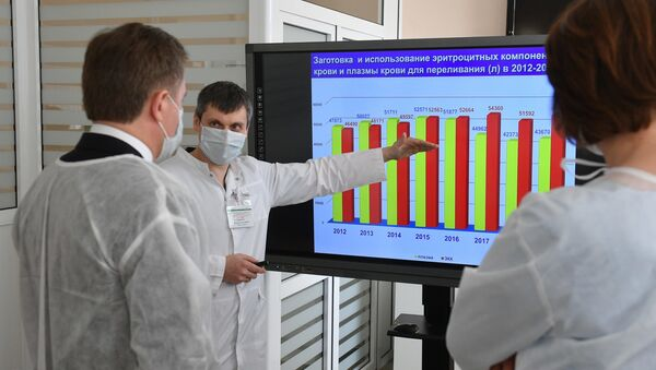 Применение плазмы крови переболевших коронавирусом рассматривается как один из вариантов лечения больных - Sputnik Беларусь