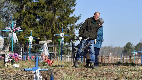 В деревню Дроньки приехали Владимир и Екатерина Бордак - Sputnik Беларусь