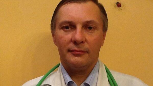 Кандыдат медыцынскіх навук Максім Гульцяеў - Sputnik Беларусь
