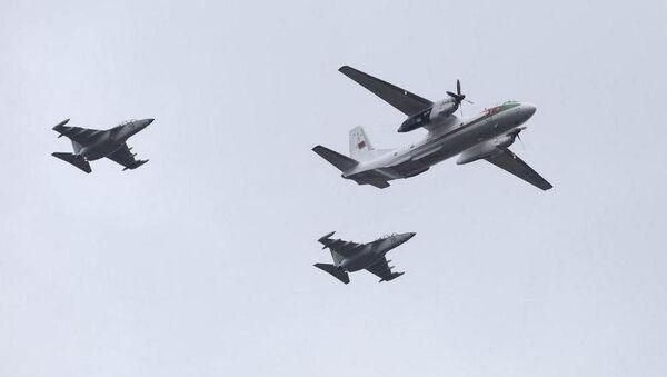 Репетиция воздушного парада - Sputnik Беларусь