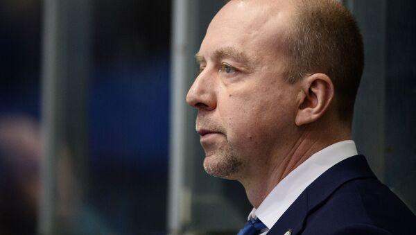 Белорусский хоккейный тренер Андрей Скабелка - Sputnik Беларусь