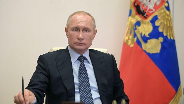 Прэзідэнт Расіі Уладзімір Пуцін, архіўнае фота - Sputnik Беларусь