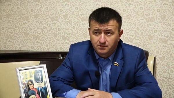 Первый вице-спикер парламента Южной Осетии Петр Гассиев - Sputnik Беларусь