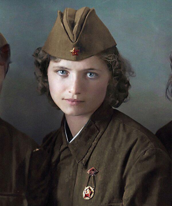 Савецкая медсястра, 1941 год. - Sputnik Беларусь
