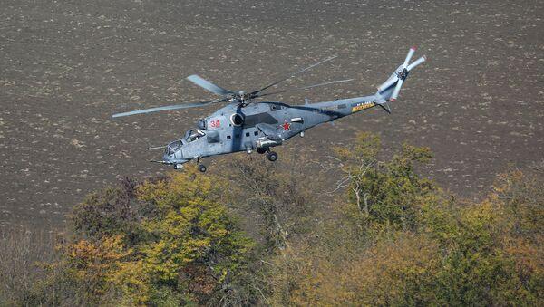 Многоцелевой ударный вертолет Ми-35М - Sputnik Беларусь