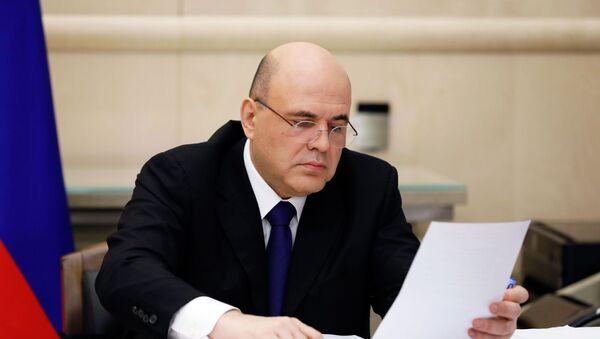 Старшыня ўрада РФ Міхаіл Мішусцін - Sputnik Беларусь