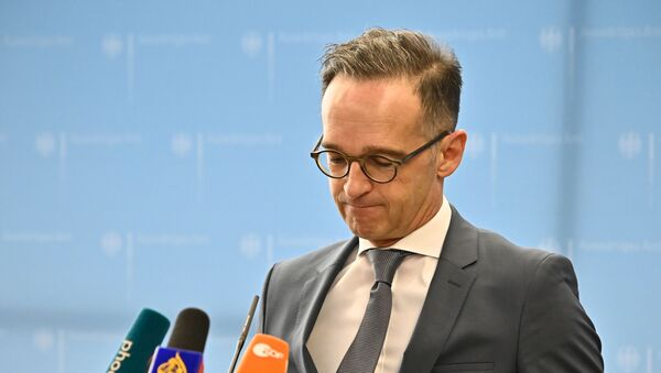 Министр иностранных дел Германии Хайко Маас - Sputnik Беларусь