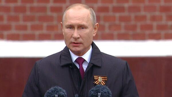 Зварот Пуціна да расіян - прамы эфір - Sputnik Беларусь