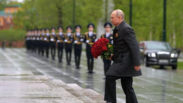 Пуцін: мы ведаем, што непераможныя, калі разам - Sputnik Беларусь