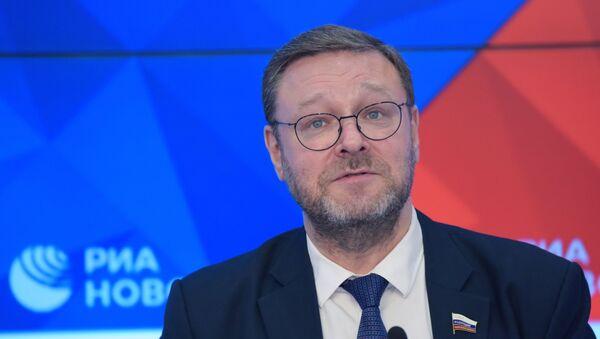 Председатель Комитета Совета Федерации по международным делам Константин Косачев - Sputnik Беларусь