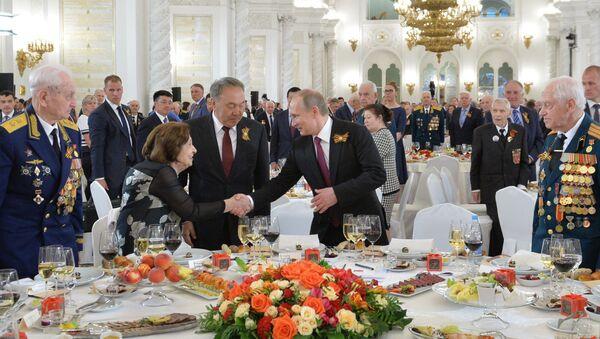 Торжественный прием от имени Владимира Путина, архивное фото - Sputnik Беларусь