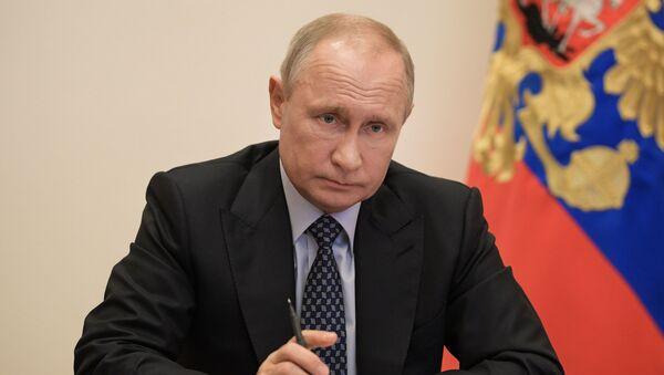 Зварот Уладзіміра Пуціна да грамадзян РФ - Sputnik Беларусь