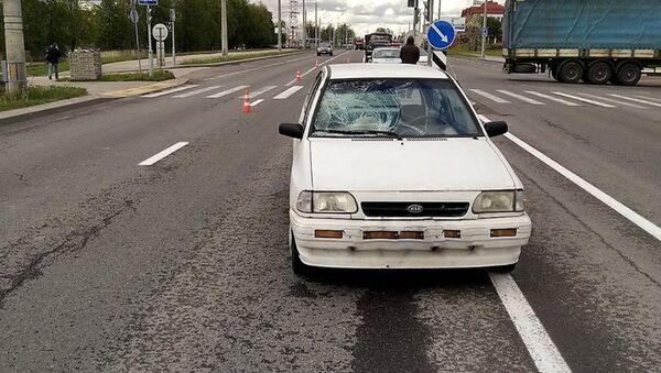 Водитель сбил двух девушек на переходе в Гродно - Sputnik Беларусь