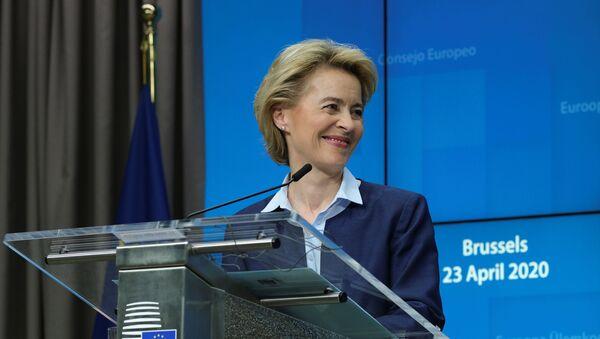 Председатель Европейской комиссии Урсула фон дер Ляйен - Sputnik Беларусь