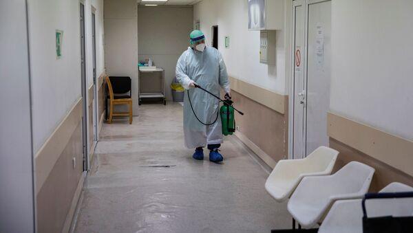 Дезинфекция помещений во время пандемии коронавируса - Sputnik Беларусь