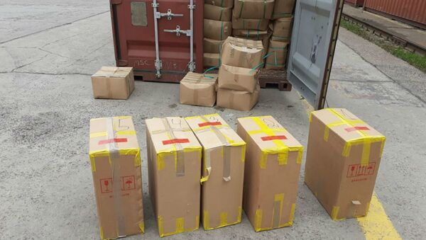 В Рижском порту нашли восемь миллионов контрабандных сигарет - Sputnik Беларусь