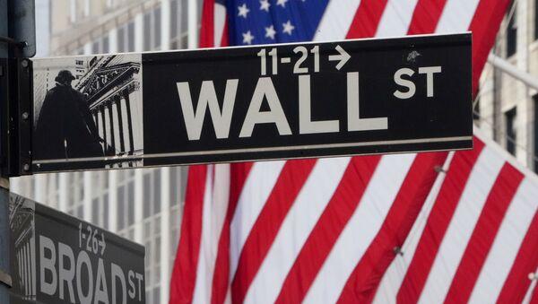 Уолл-стрит, Нью-Йоркская фондовая  биржа - Sputnik Беларусь