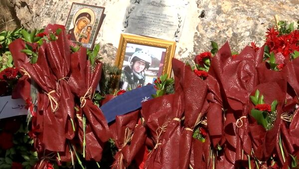 В Сирии появилась памятная табличка на месте гибели летчика Романа Филипова - Sputnik Беларусь
