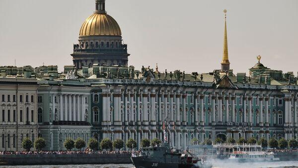 Будынак Эрмітажа ў Санкт-Пецярбургу - Sputnik Беларусь