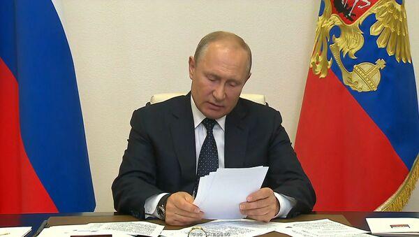 Саміт лідараў краін ЕАЭС: што сказаў Пуцін пра цану на газ - Sputnik Беларусь