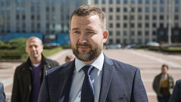 Председатель Белорусской социал-демократической Грамады (БСДГ) Сергей Черечень подал документы в ЦИК - Sputnik Беларусь