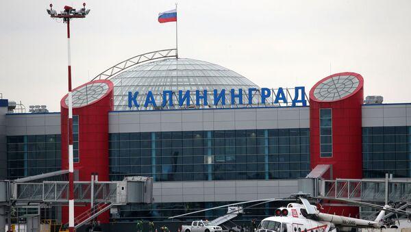 Международный аэропорт Храброво в Калининграде - Sputnik Беларусь