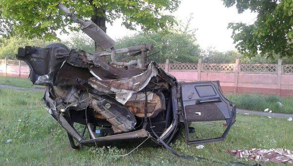 ДТП в Лиде: женщину-водителя выбросило из машины - Sputnik Беларусь
