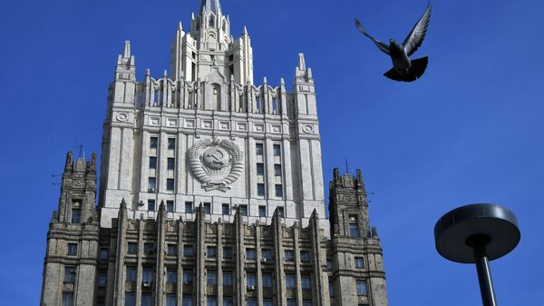 МИД РФ: истерить из-за выхода США из Договора по открытому небу не будем - Sputnik Беларусь