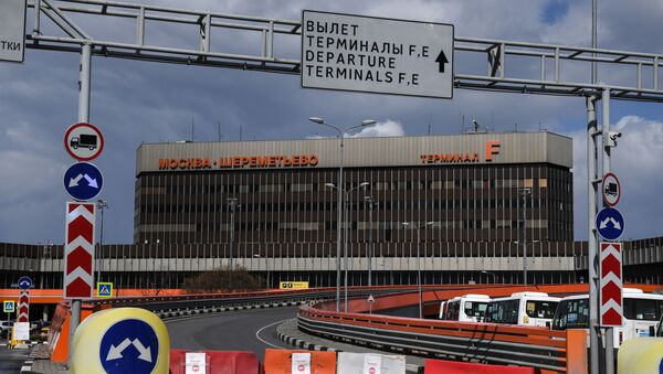 Терминал F Международного аэропорта Шереметьево - Sputnik Беларусь
