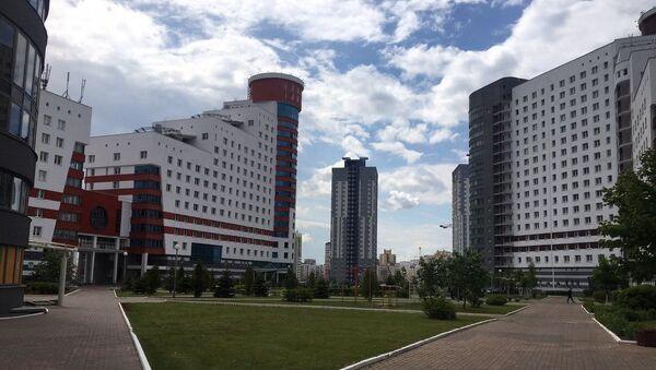 В студенческой деревне - Sputnik Беларусь