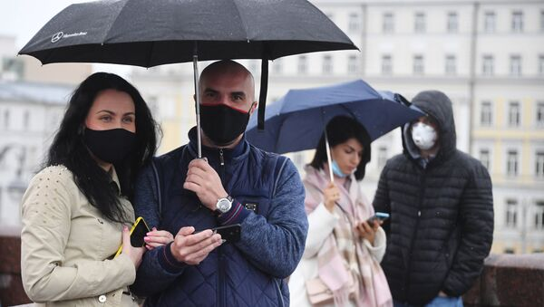 Под дождем - Sputnik Беларусь