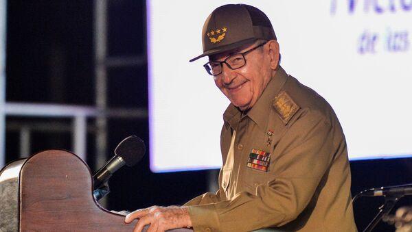Бывший президент Кубы и первый секретарь Коммунистической партии Кубы Рауль Кастро - Sputnik Беларусь
