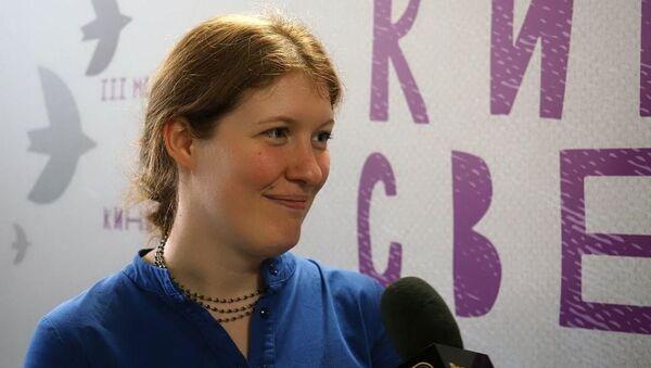 Основательница фестиваля Киносвет, кинорежиссер, продюсер, сценарист и педагог Наталья Морозова  - Sputnik Беларусь