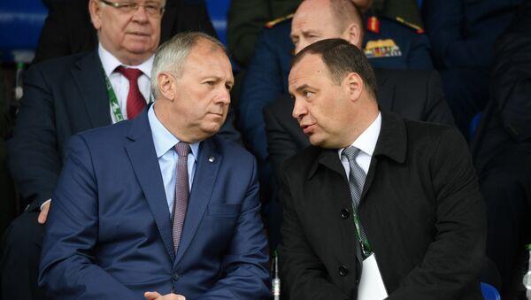 Сергей Румас и Роман Головченко - Sputnik Беларусь