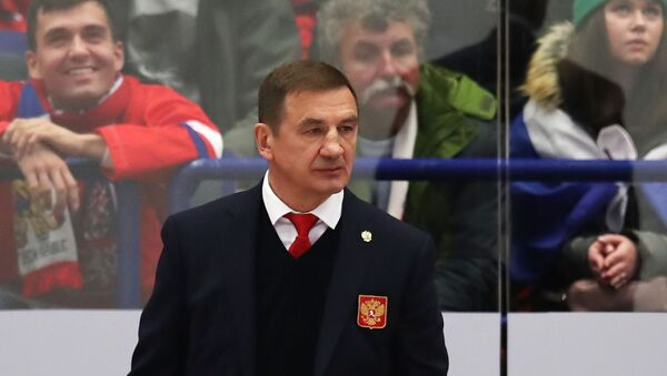 Главный тренер сборной России по хоккею Валерий Брагин - Sputnik Беларусь