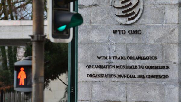 Эмблема Всемирной торговой организации (ВТО) - Sputnik Беларусь