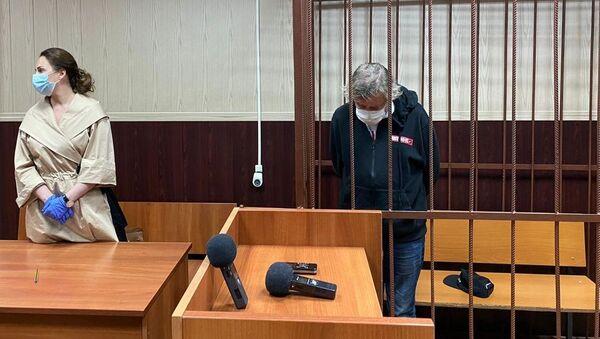 Актер Михаил Ефремов в зале суда - Sputnik Беларусь